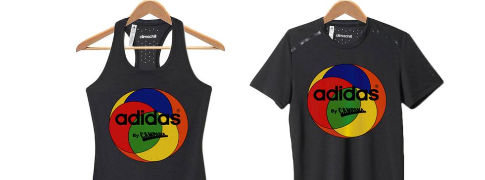 T-shirts adidas x campana