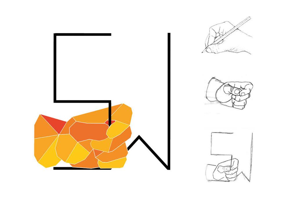 Etapes logo personnel