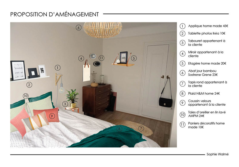 Home staging chambre simulation 1