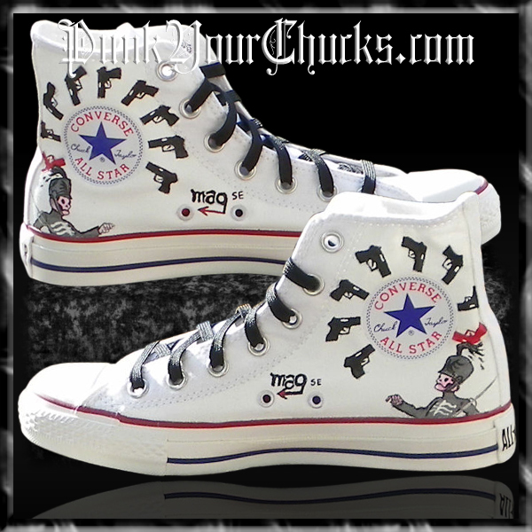 My Chemical Romance high Chucks insides
