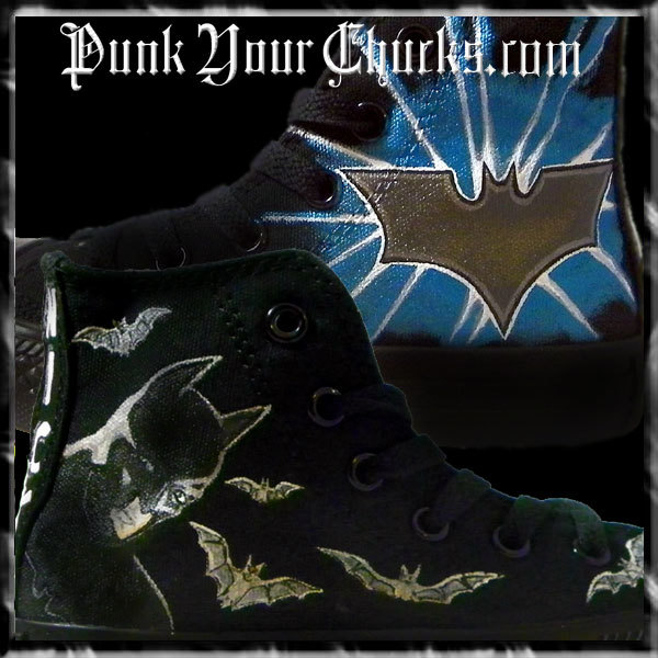 Batman High Chucks main