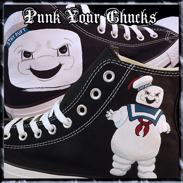Stay Puft High Chucks MAIN
