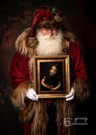 Christmas Santa Frame 2