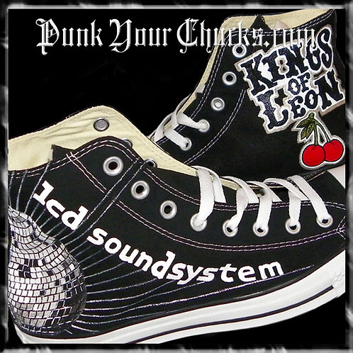 Kings of Leon Custom Converse Sneakers