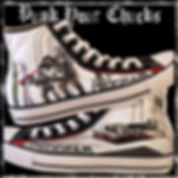 The Program Custom Converse Sneakers
