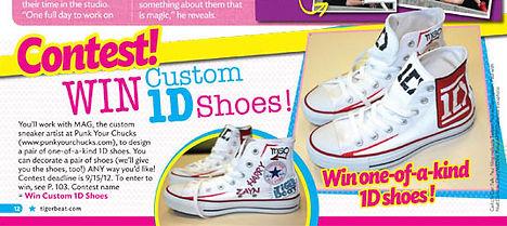 1D Custom Converse