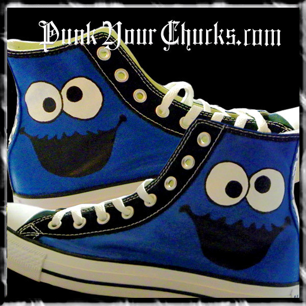 Cookie Monster high chucks main