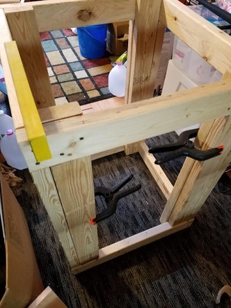 75 Gallon Enclosure Wooden Stand DIY