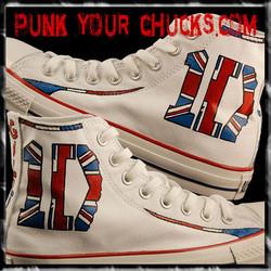 1D band British Flag high Chucks MAIN