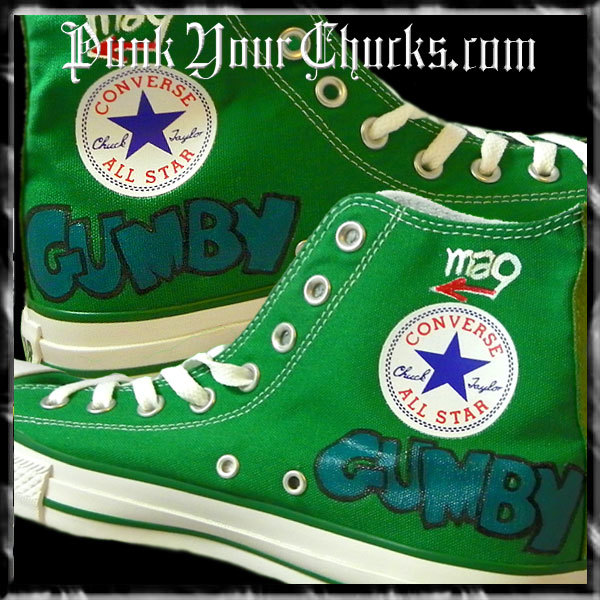 GUMBY High Chucks inside