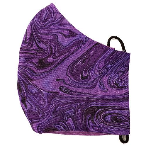 Purple Marble Swirls