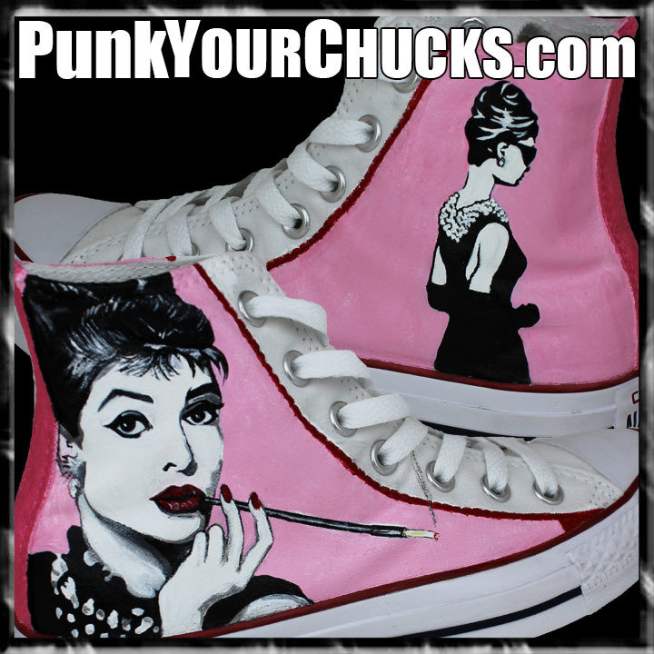 Audrey Hepburn high Chucks main