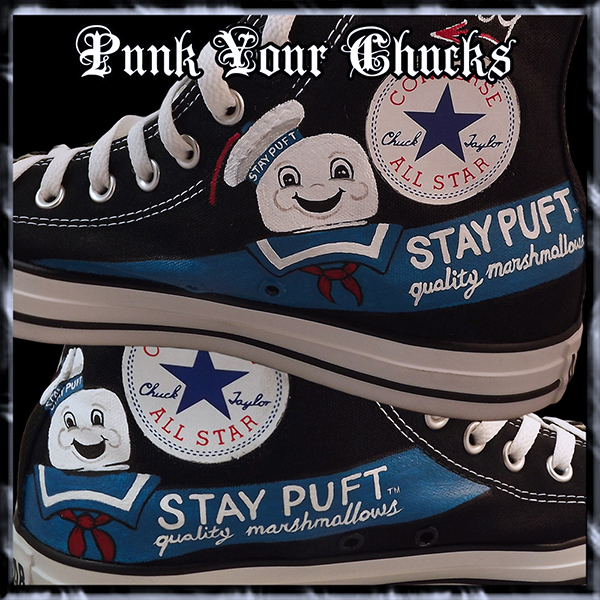 Stay Puft High Chucks insides