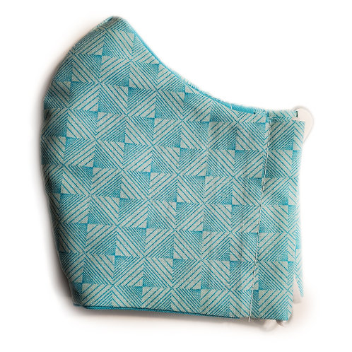 Turquoise Abstract Pattern