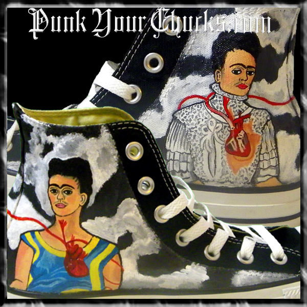 Los Dos Frida High Chucks main