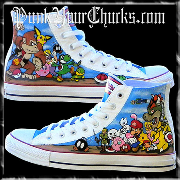 Nintendo high Chucks main