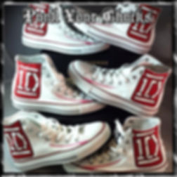 One Direction Custom Converse Sneakers