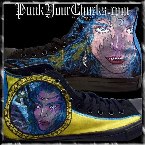 World of Warcraft Custom Converse Sneakers