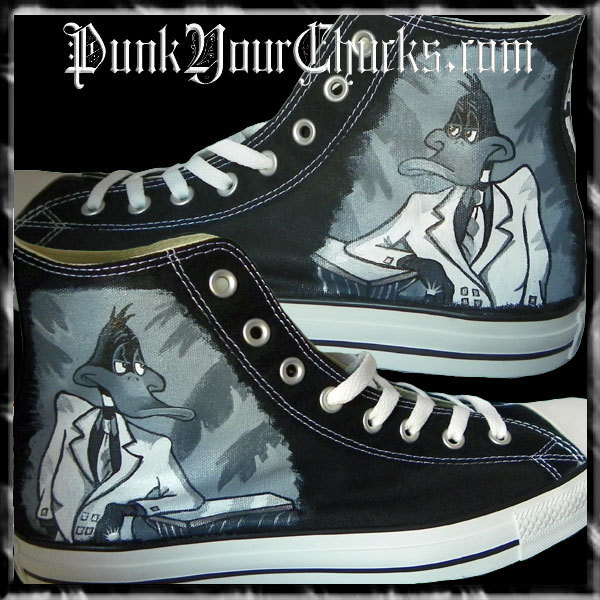 Daffy Duck Zoot suit High Chucks main