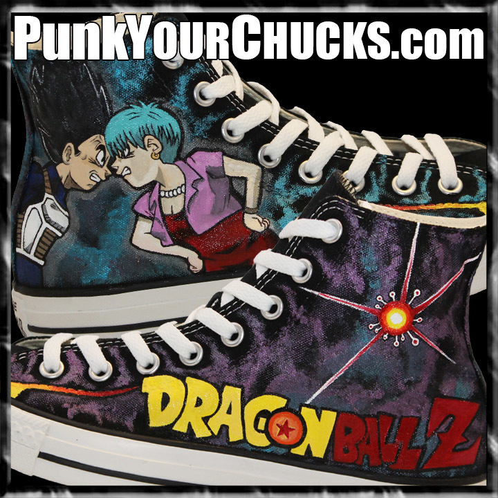 Dragon Ball Z high Chucks main