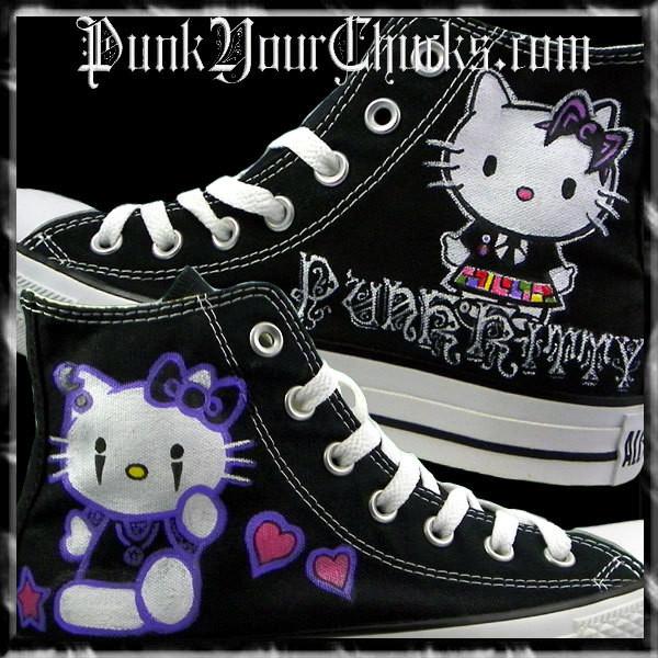 Hello Kitty High Chucks PUNK main