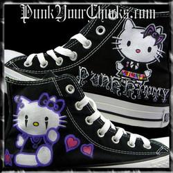 Hello Kitty High Chucks PUNK main