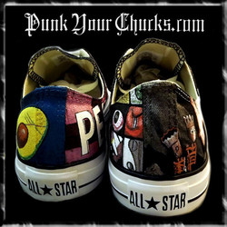 Pearl Jam montage Low Chucks spines