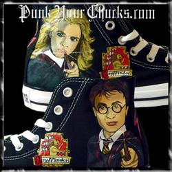 Harry Potter Portrait high chucks main
