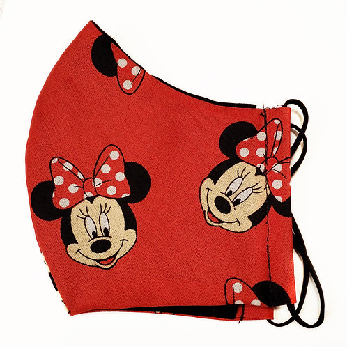 Disney Minnie Mouse on Red