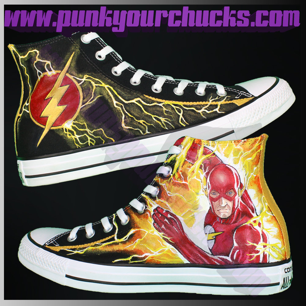 FLASH high chucks main