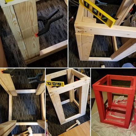 DIY Stand for our 75 Gallon Quarantine Vivarium