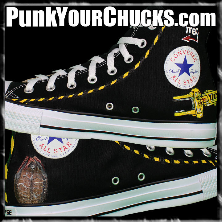 Aliens High Chucks insides