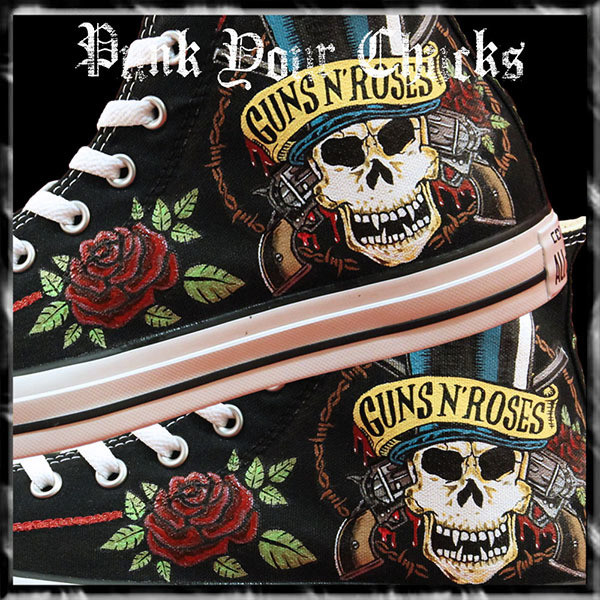 Guns and Roses High Chucks main