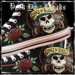 Guns and Roses High Chucks main