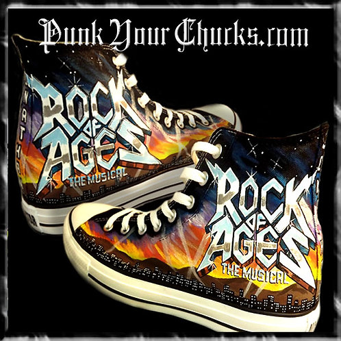Rock of Ages Custom Converse Sneakers