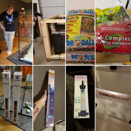 The Rainforest Exhibit, supplies.