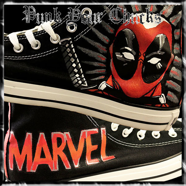 Deadpool Design 1 high chucks main