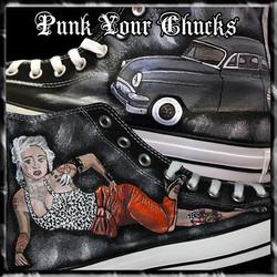 Pin Up Classic Car high Chucks MAIN