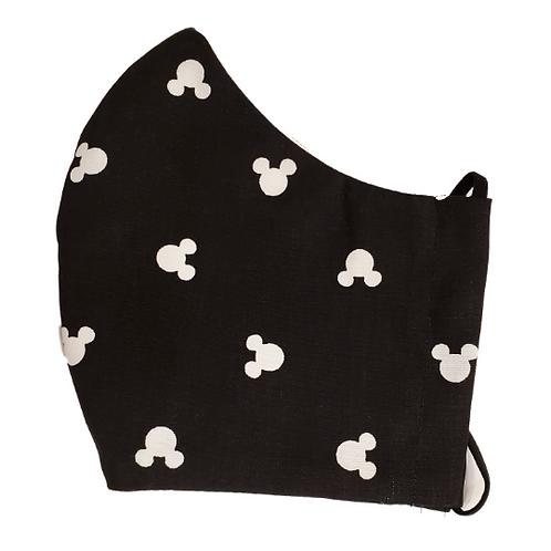 Mickey Ears Black & White