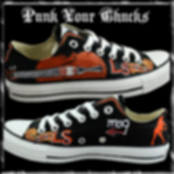 Lindsey Stirling Custom Converse Sneakers