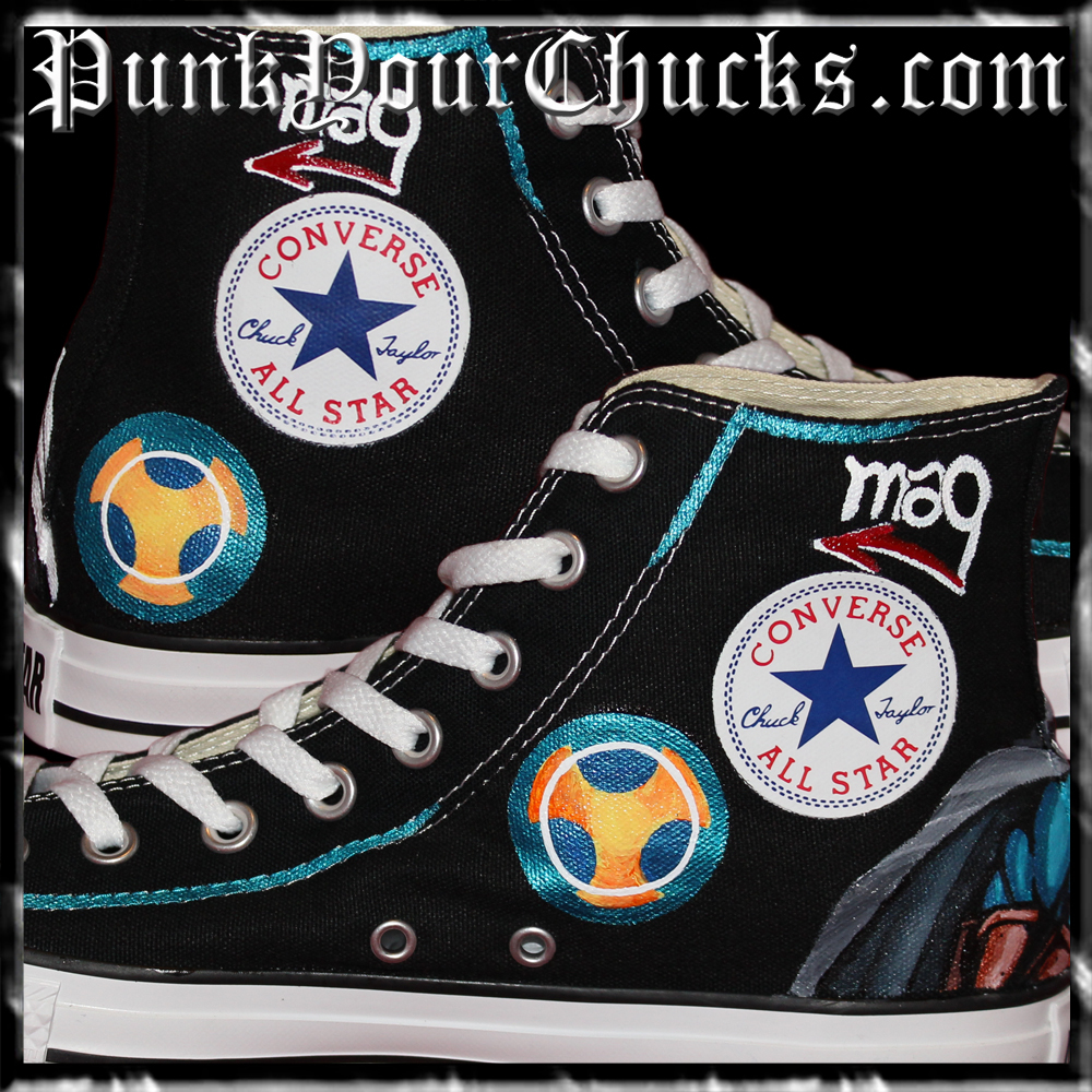 Marvel Taskmaster High Chucks insides