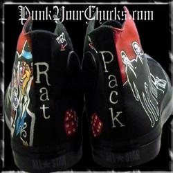 Rat Pack high Chucks spines