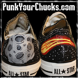 Marvin the Martian low chucks spines