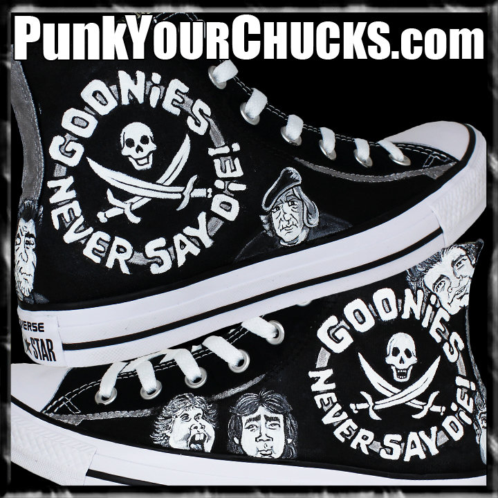 Goonies high Chucks main