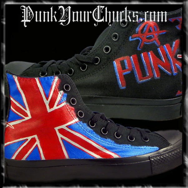 British Punk high Chucks main