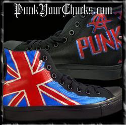 British Punk high Chucks main