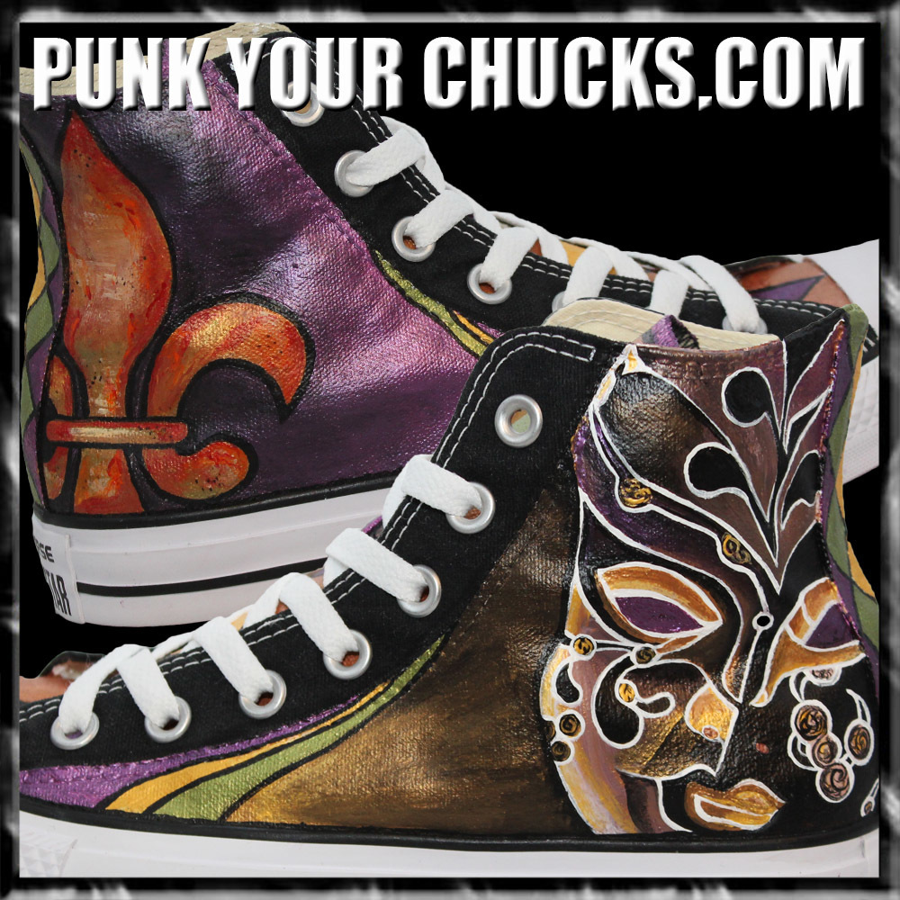 Mardi Gras High Chucks MAIN