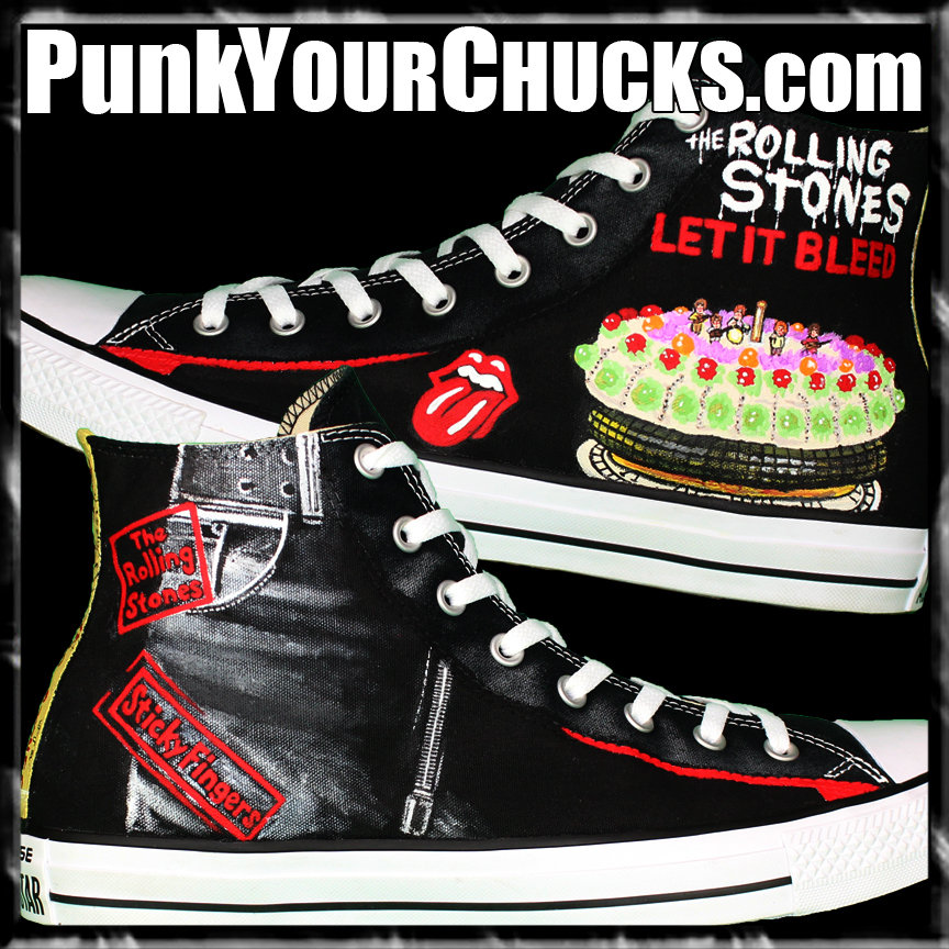 Rolling Stones High Chucks Main