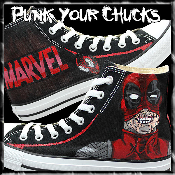 Deadpool Design 3 high chucks main