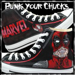Deadpool Design 3 high chucks main